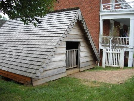 Icehouse: McLean House, Appomattox