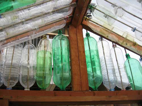 Thirsty in suburbia the new diy dumps inspire you for What is a greenhouse made out of