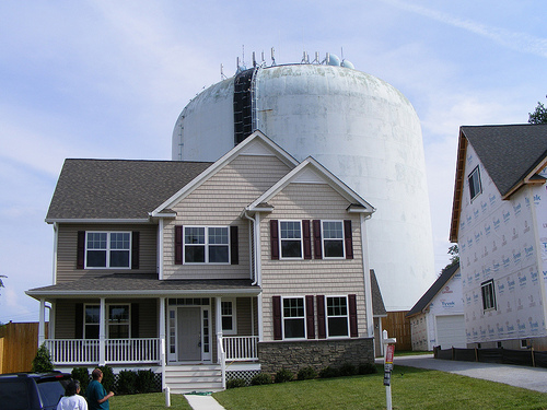 The Water Tower House, Montgomery Hills, Maryland