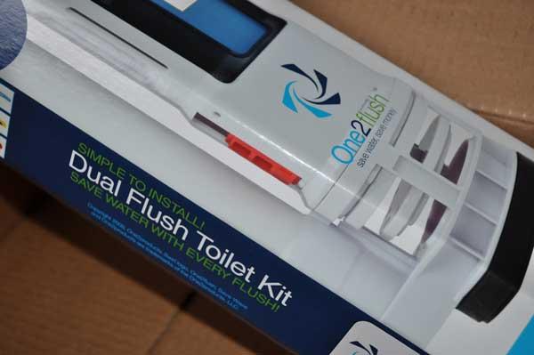 dual flush toilet kit