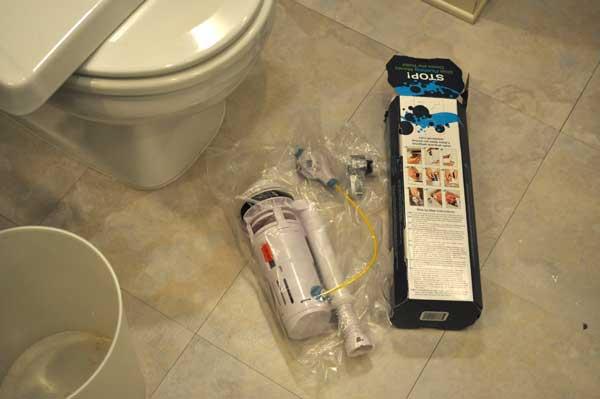 dual flush toilet kit parts