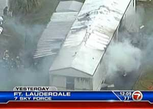 Screenshot of video from www.wsvn.com