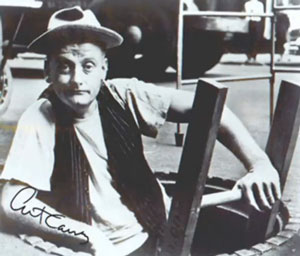 Art Carney as Ed Norton, Sewer Worker