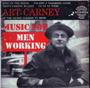 album cover art carney Music for Men Working