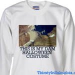 this is my dam halloween costume hoover dam sweatshirt