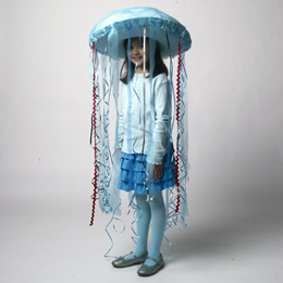 diy halloween jellyfish costume
