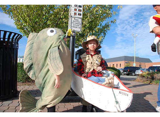 fish and fisherman diy halloween costume