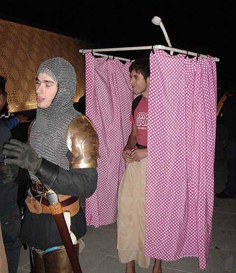 water shower diy halloween costume