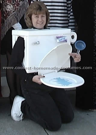 diy toilet halloween costume