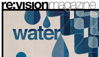 re:vision magazine water