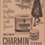 charmin bath tissue vintage advertisement