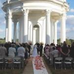 wedding at louisville kentucky water tower
