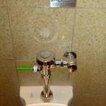 dual flush public toilet
