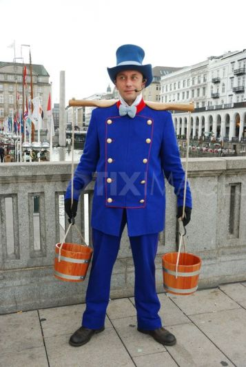 water carrier costume