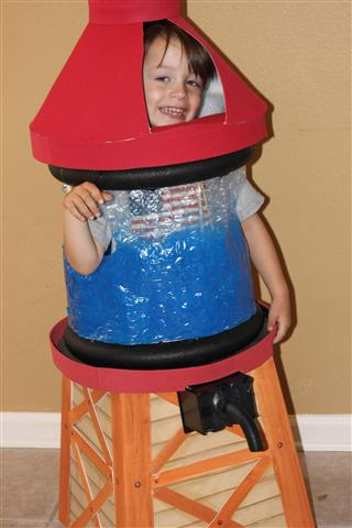 water tower halloween costume